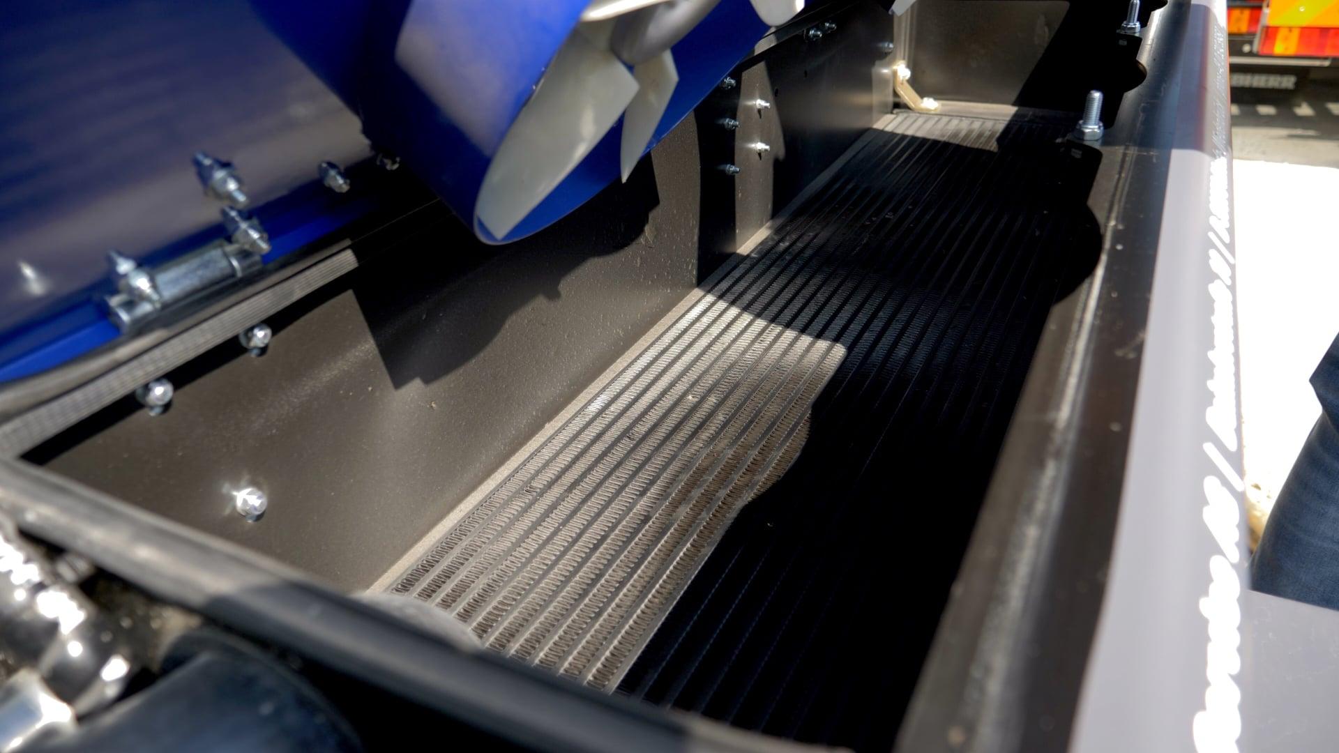 Kühlsystem mit Lüfter (leicht zur reinigen)