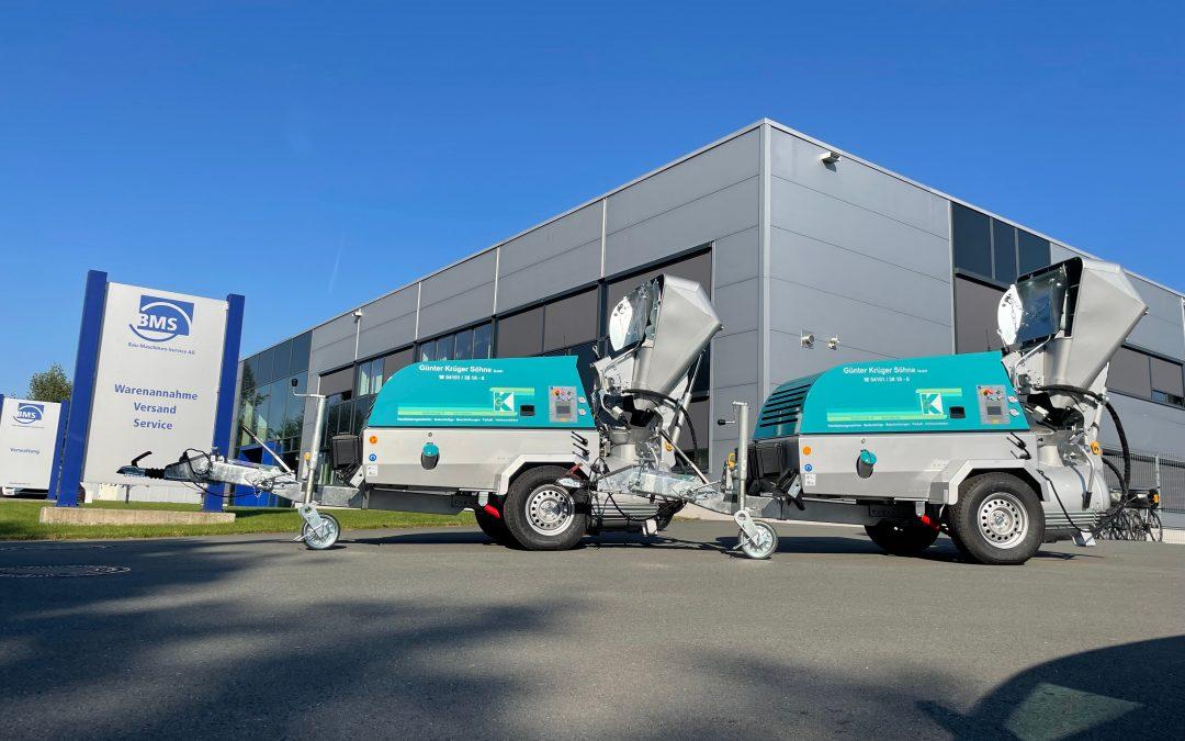 Günter Krüger Söhne GmbH investiert in zwei neue alpha CR